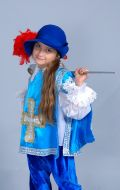 Костюм Мушкетер (для девочки); Артикул М.Мш3