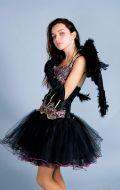 Костюм Черный Лебедь (Черный Ангел); Артикул Чл1