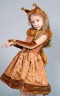Костюм Белочка-модница с натуральным мехом; Артикул: Б1/ Б2/ Б3/ Б4/ Б5.