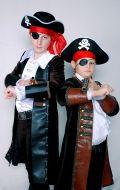 Костюм Пират Карибского моря (Джек Воробей и Флинт); Артикулы П8 и П5