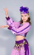 Костюм Восточный фиолетовый; Артикул В1
