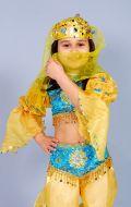 Костюм Восточный желтый с голубым (Жасмин); Артикул В15