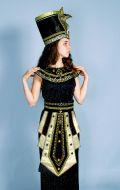 Костюм Египет (Нефертити черная) NEW