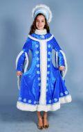 Костюм Снегурочка (длинное платье бархат); Артикул Сг5