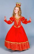 Костюм Королева красная расшитая; Артикул Пд9