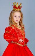 Костюм Королева красная с золотом; Артикул Пд9