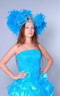 Костюм Бразилия голубая (Бразильский Карнавал); Артикул Б3