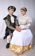 Костюмы Принц и Принцесса; Артикулы М.Пд2 и Ж.Пд11