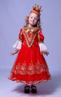 Костюм Королева красная расшитая; Артикул Пд2/Пд3
