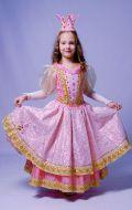 Костюм Золушка (принцесса розовая);  Артикул Пд59