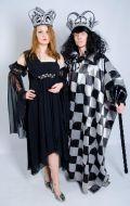 Костмюмы Темная Королева и Шахматный Король; Артикулы Рт33/ШхК1