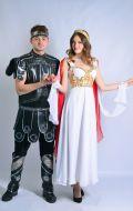 Костюмы Афродита и Арес; Артикулы Лг2 и Гр10