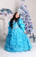 Костюм Принцесса бирюзовая; Артикул Пд30