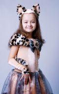 Костюм Кошка Придворная Леопардовая; Артикул К6 / К14