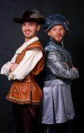 Костюмы Шекспир и Кот в сапогах; Артикулы Пд1 и Ох3