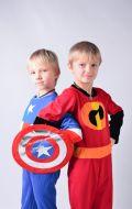 Костюмы Капитан Америка и Шастик (Суперсемейка); Артикулы КА1 и Сс1