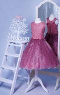 Бальное платье оттенка Красный Оксид; Артикул СМ91/СМ92