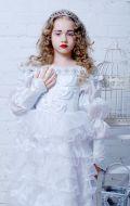 """Костюм Белая королева (х\ф """"Алиса в стране чудес""""); Артикул Ск (по размеру)"""