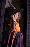Костюм Волшебница черно-оранжевая NEW; Артикул Х16