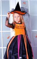Костюм Волшебница черно-оранжевая; Артикул Х16