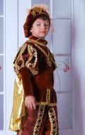 Костюм Принц коричневый с золотом; Артикул Пр6