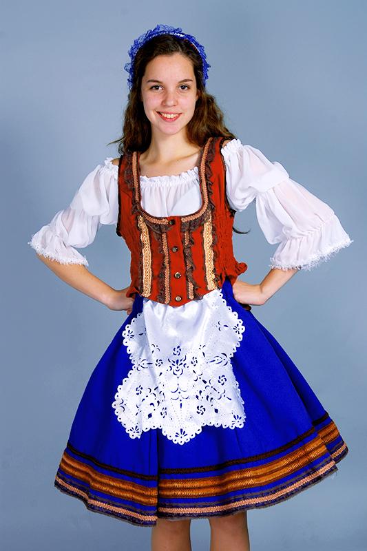 Женская народная одежда немцев картинки